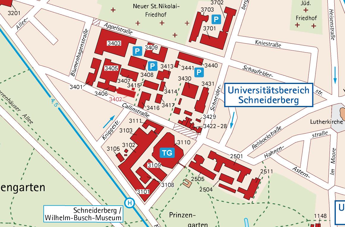 Campus Schneiderberg – Naturwissenschaftliche Fakultät – Leibniz ...